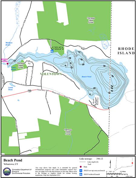 Beach Pond Map