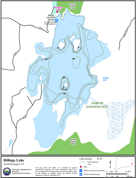Billings Lake Map