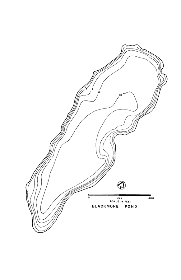 Blackmore Pond Lake Map
