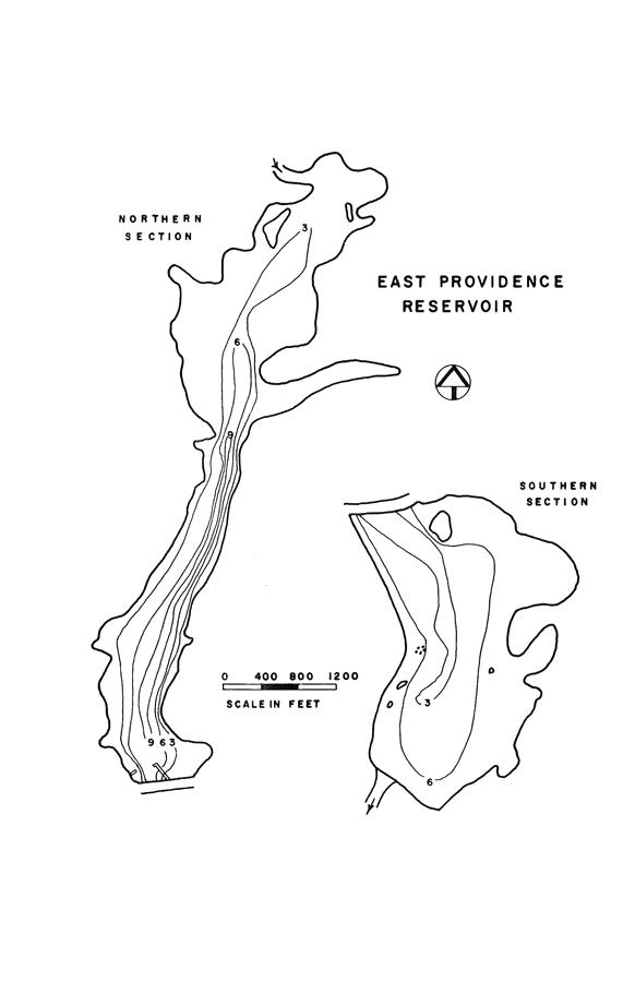 East Providence Reservoir Map