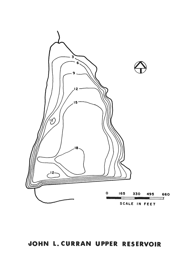 John Curran Upper Reservoir Map