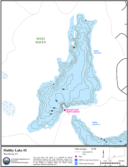 Maltby Lake #2 Map
