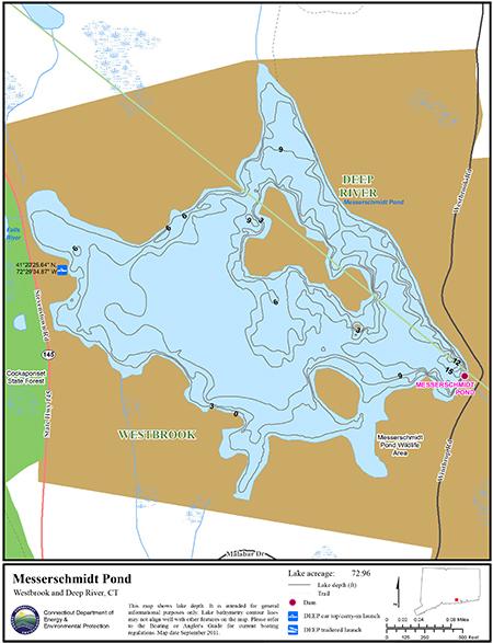 Messerschmidt Pond Map