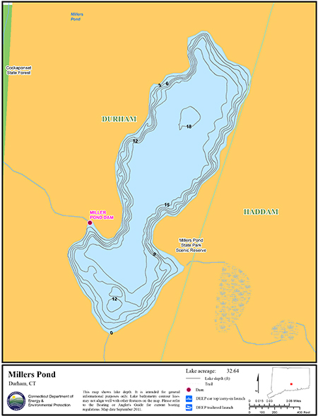 Millers Pond Map