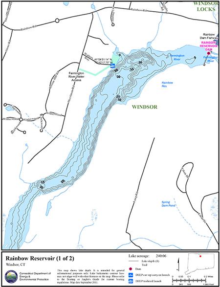 Rainbow Reservoir Map