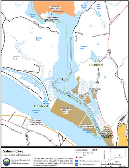 Salmon Cove Map