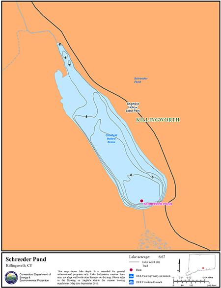 Schreeder Pond Map