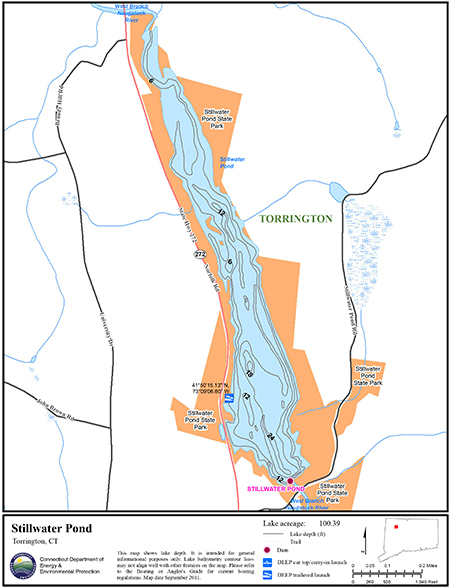 Stillwater Pond Map