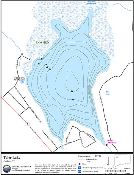 Tyler Lake Map