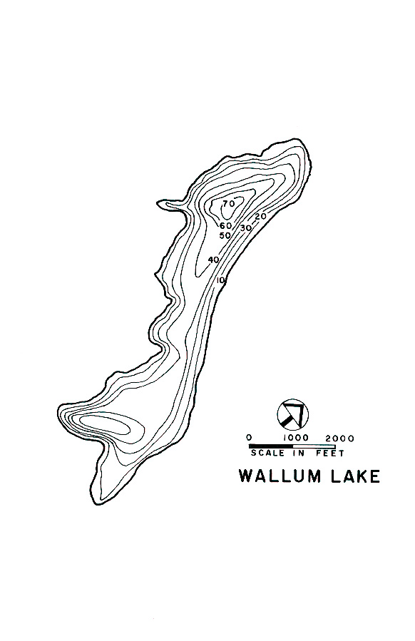 Wallum Lake Map