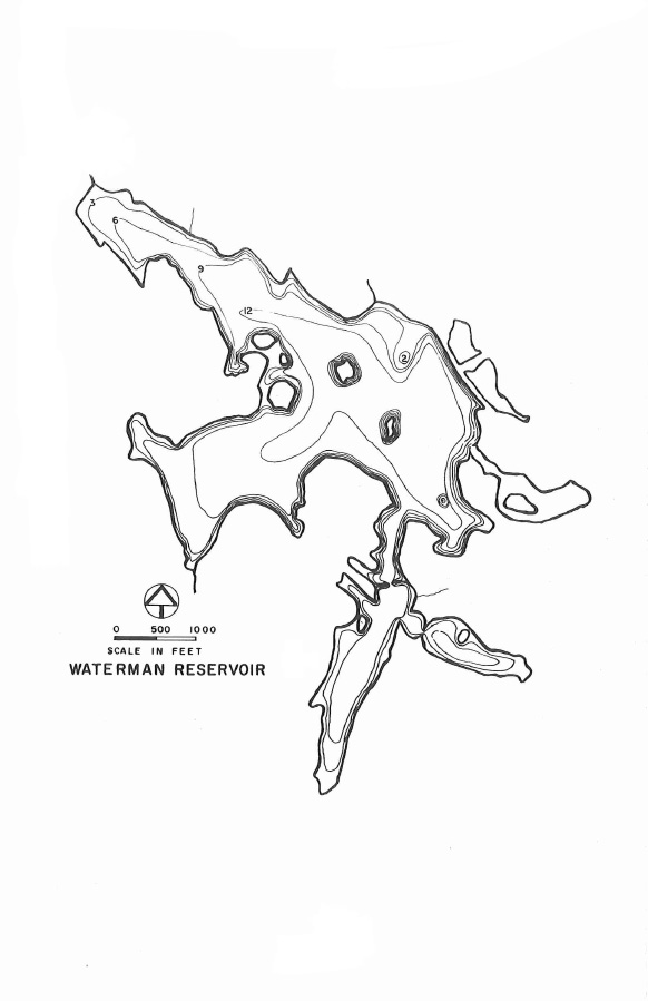 Waterman Reservoir Map