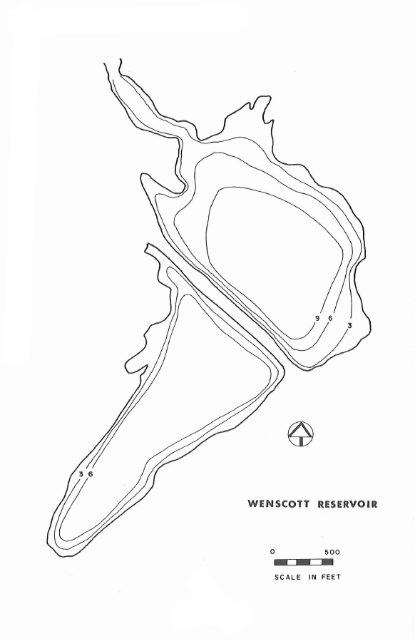 Wenscott Reservoir Map
