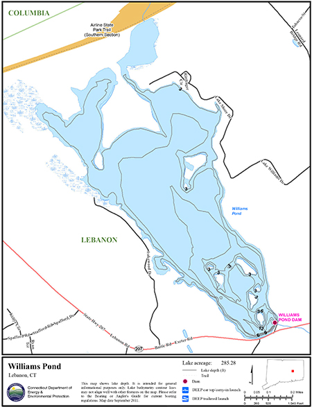 Williams Pond Map