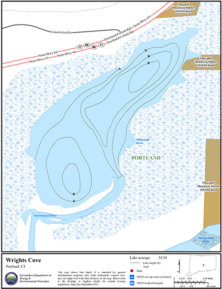 Wrights Cove Map