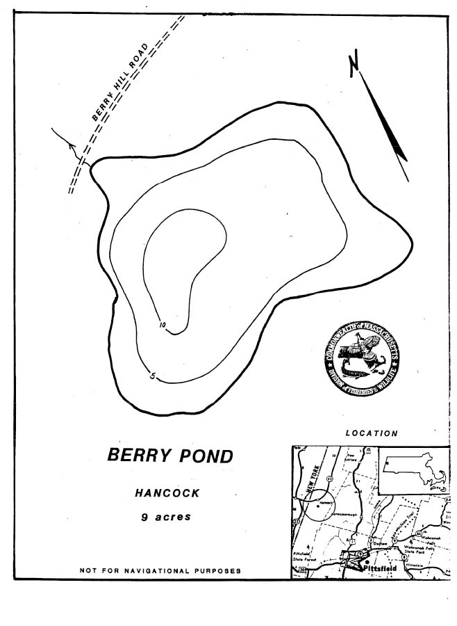 Berry Pond Map