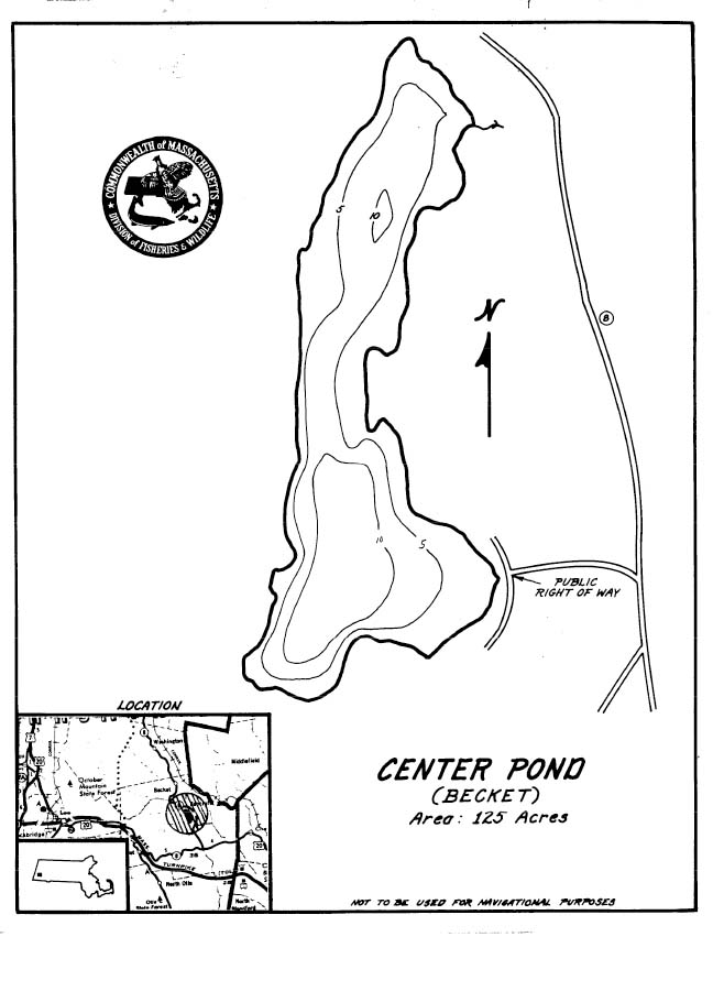 Center Pond Map