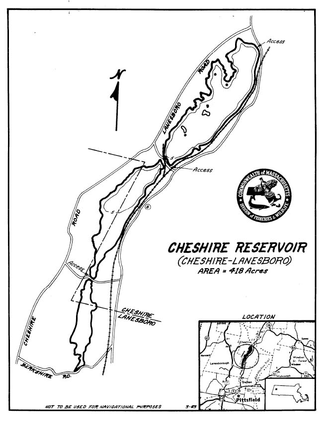 Cheshire Reservoir Map