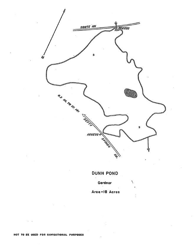 Dunn Pond Map