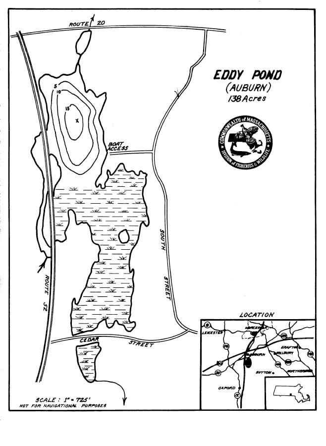 Eddy Pond Map