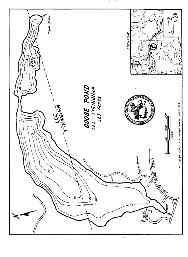 Goose Pond Map