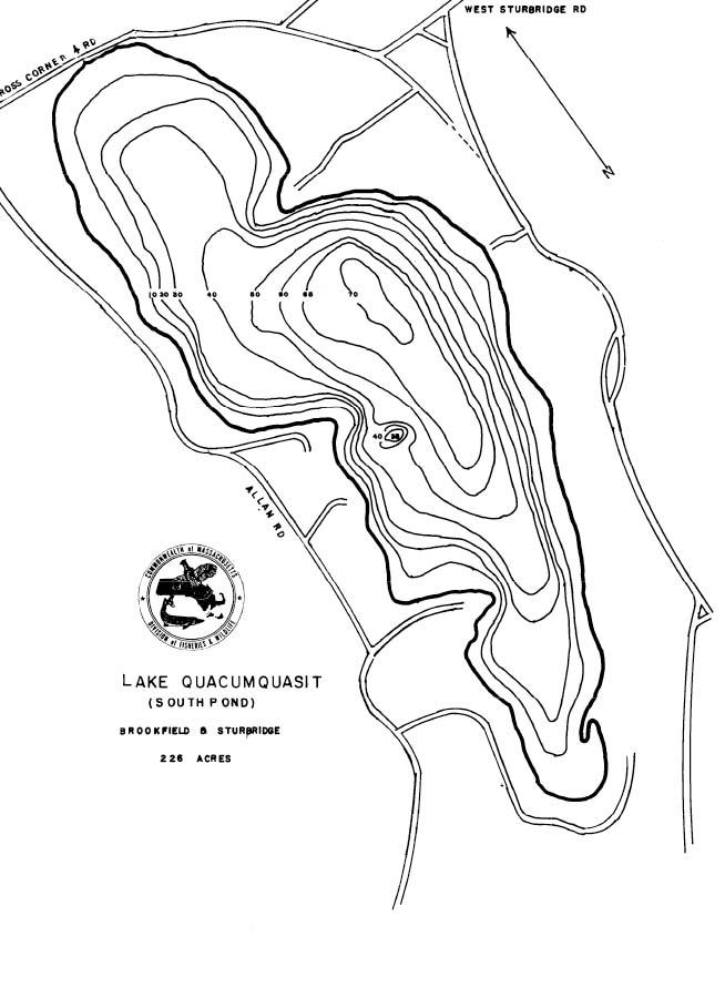 Lake Quacumquasit Map