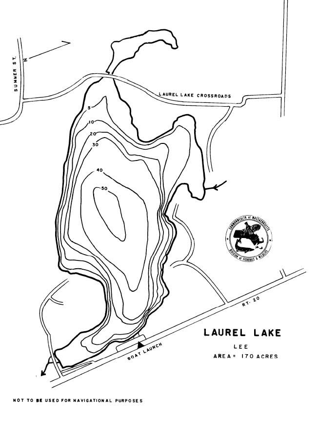 Laurel Lake Map