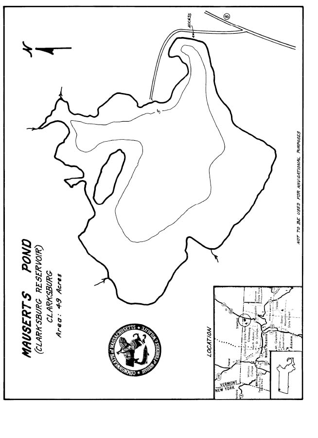 Mauserts Pond Map