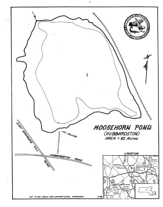 Moosehorn Pond Map
