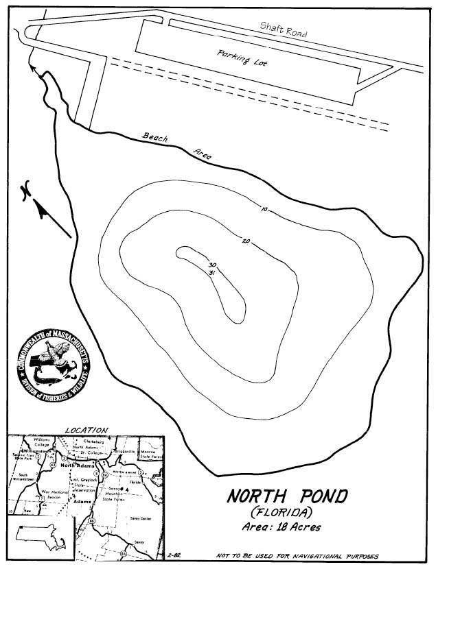 North Pond Map