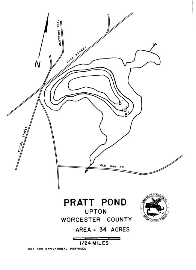 Pratt Pond Map