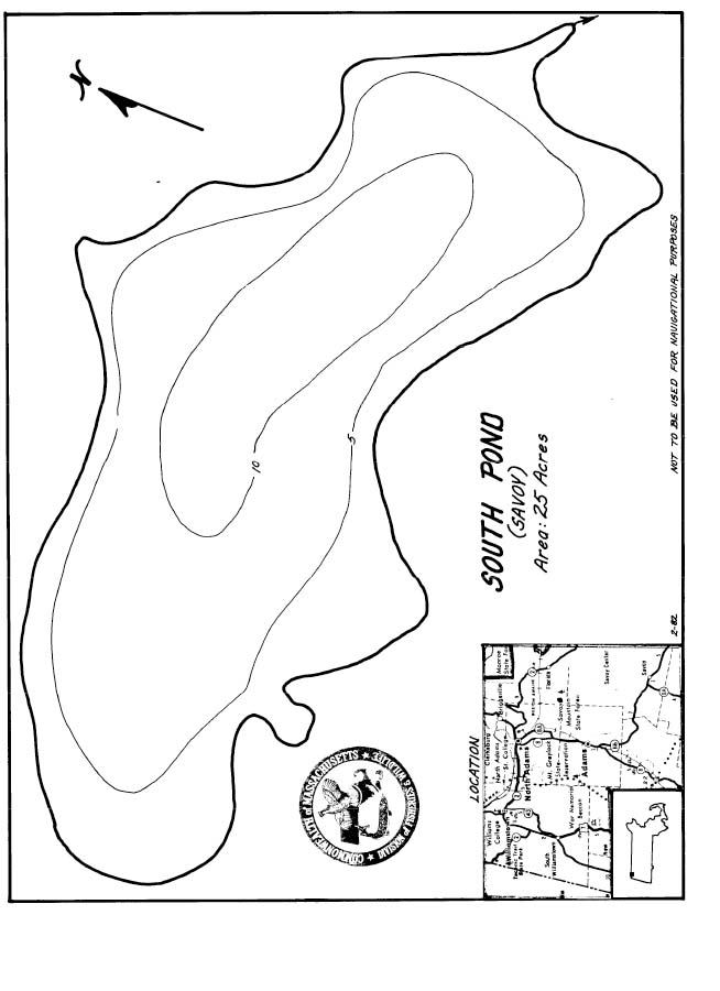 South Pond Map