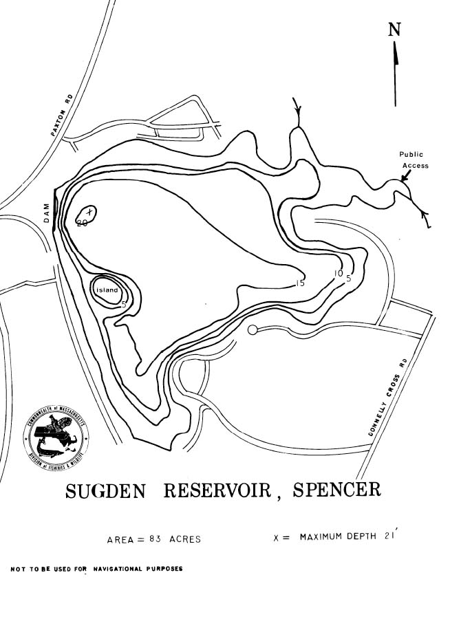 Sugden Reservoir Map