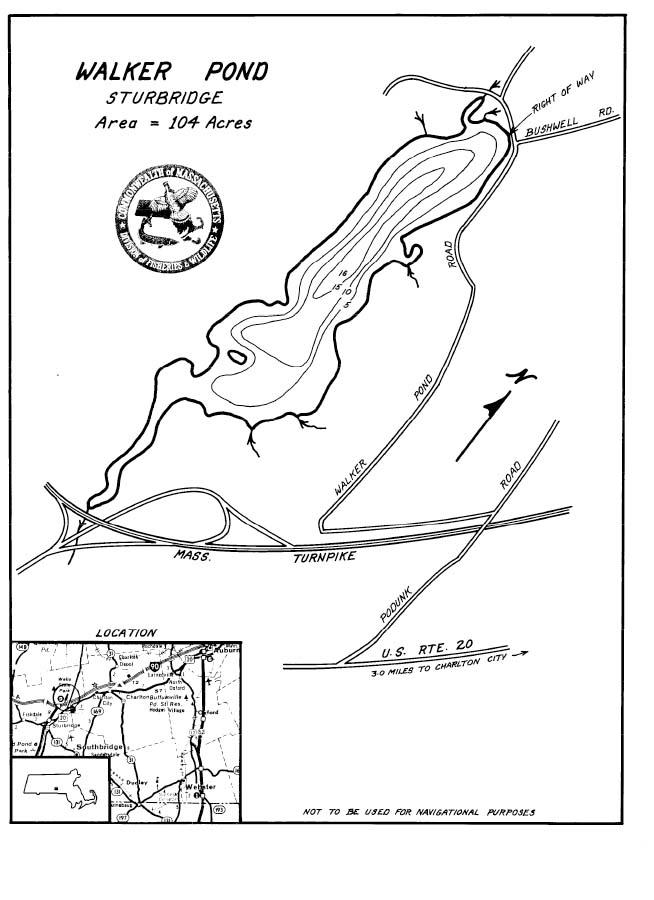 Walker Pond Map