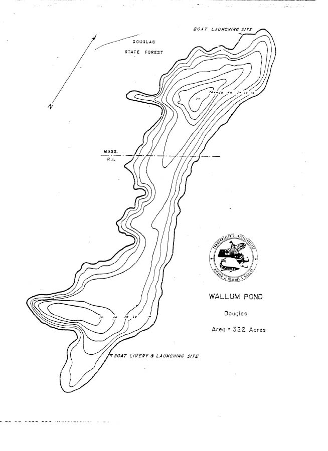 Wallum Pond Map