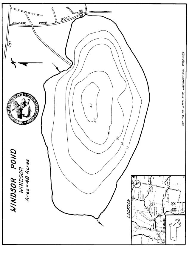 Windsor Pond Map