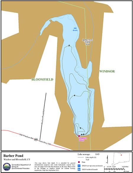 Barber Pond Map