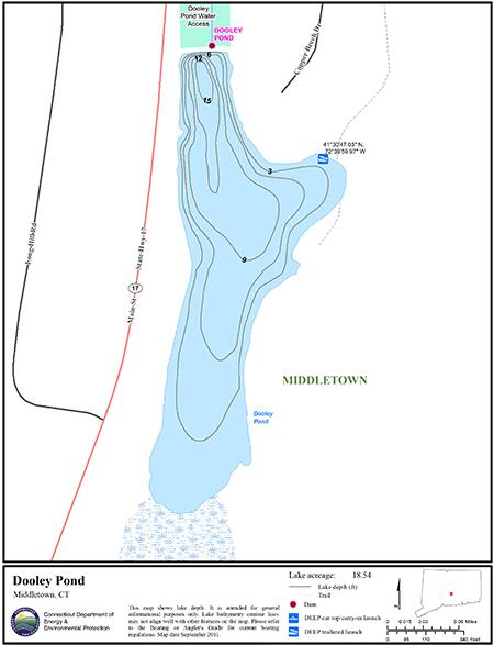 Dooley Pond Map