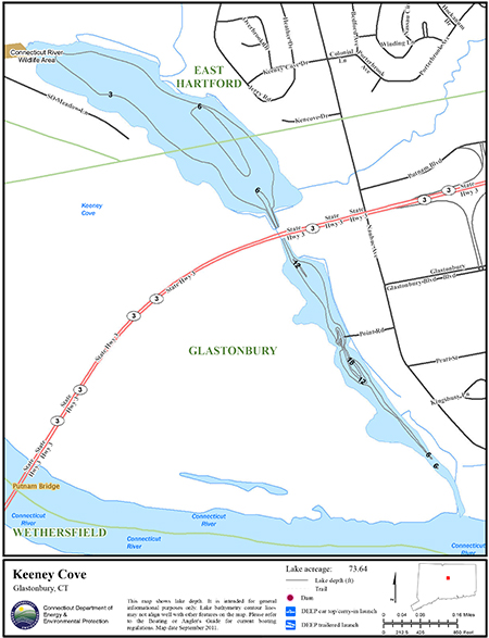 Keeney Cove Map