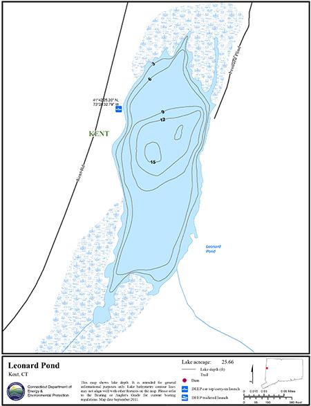 Leonard Pond Map