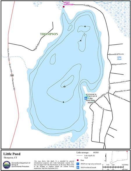 Little Pond Map