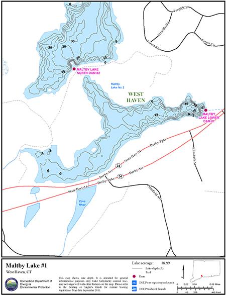 Maltby Lake #1 Map