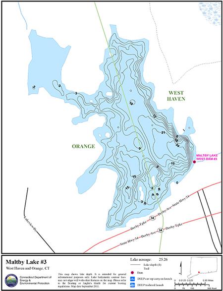 Maltby Lake #3 Map