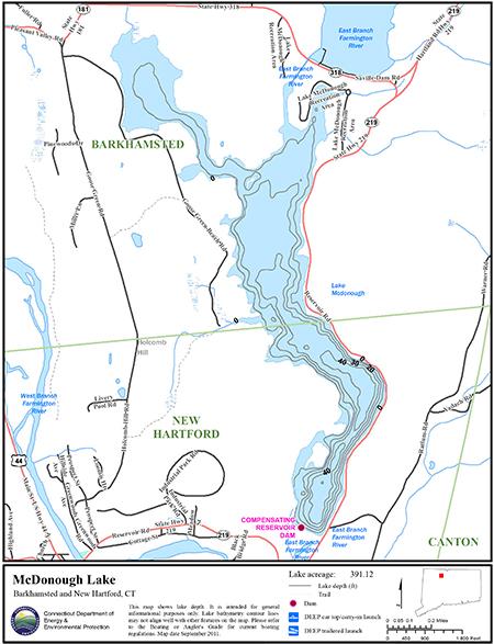McDonough Lake Map