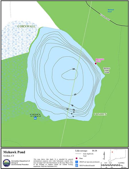 Mohawk Pond Map