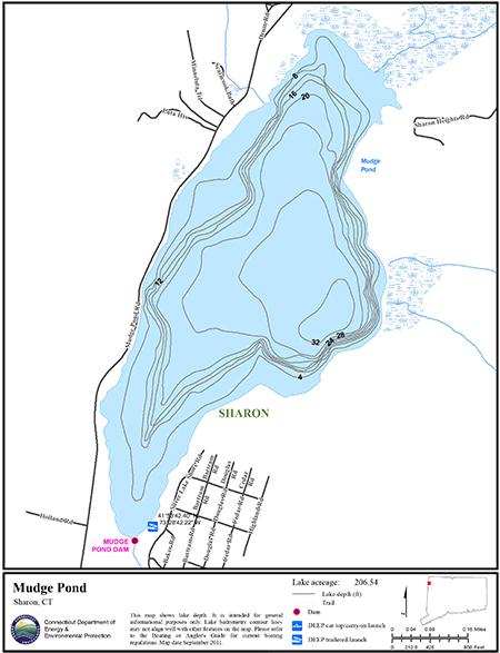 Mudge Pond Map