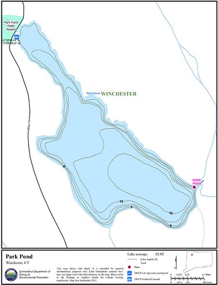 Park Pond Map