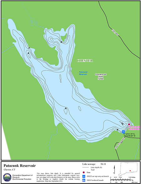 Pataconk Reservoir Map