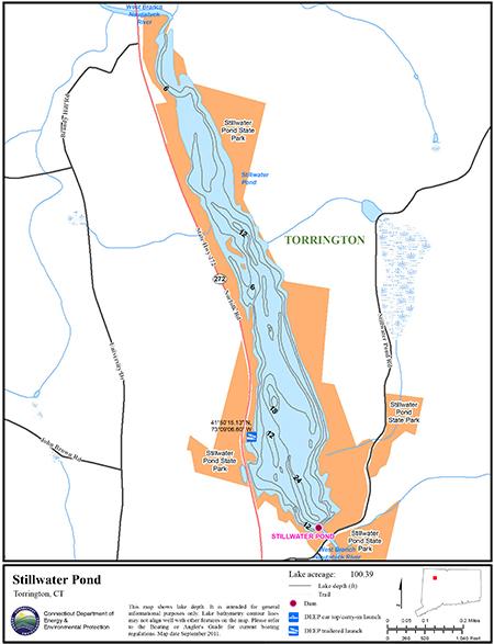 Stillwater Pond Map