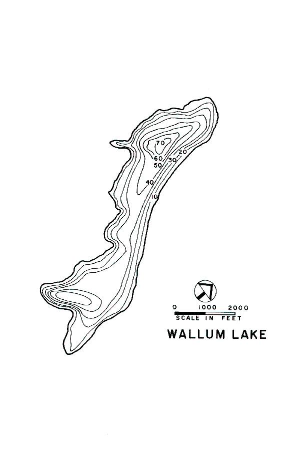Wallum Lake Map