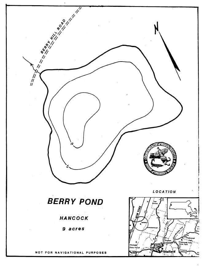 Berry Pond Map